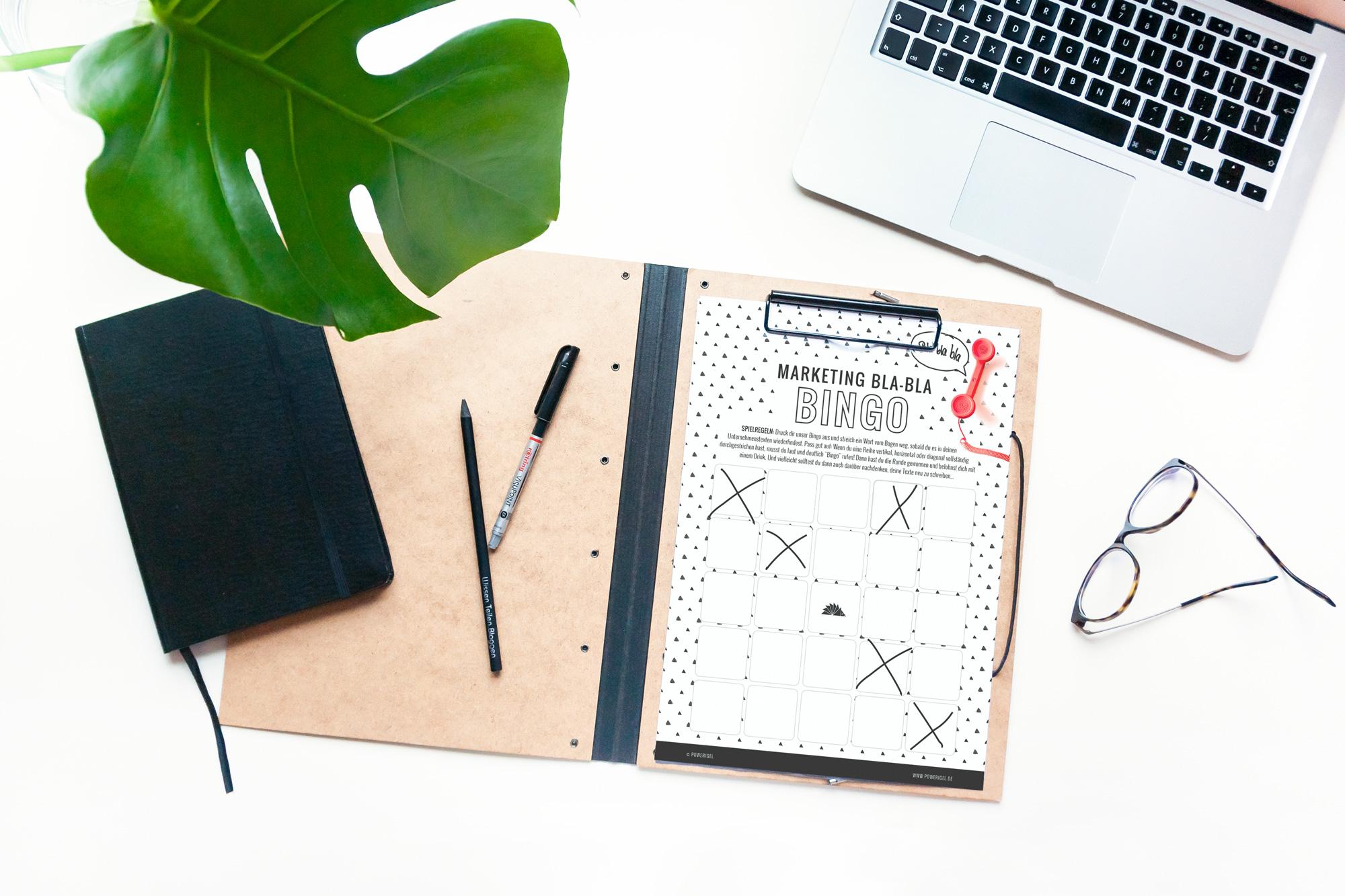 Marketing Bingo – www.powerigel.com